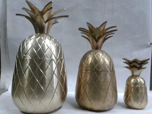 Brass Pineapple Set