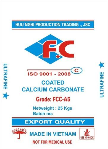 Coated Ground Calcium Carbonate Powder