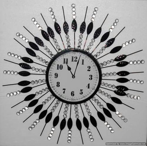 Decorative Iron Wall Clock