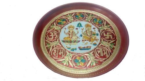 Indian Craftio Decorative Diwali Thali