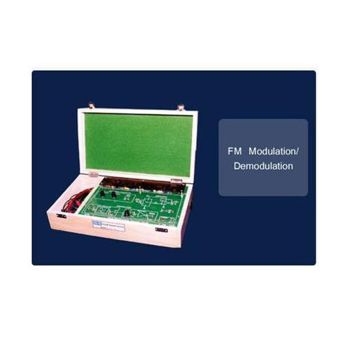Frequency Modulation and De Modulation Trainer