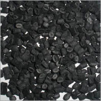 Recycled PP Black Granules in  Ranholla Village