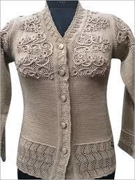 cfd256c03c161b Designer Ladies Cardigan - Pushp Hosiery Mills