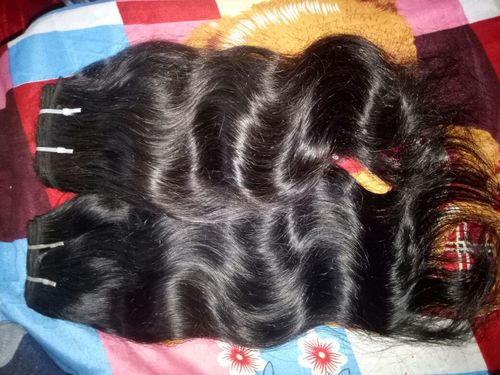 Wefted Wavy Human Hairs in  Porur