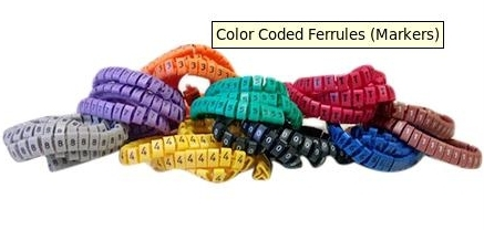 Color Coded Ferrules (Markers)