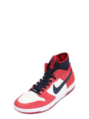 Nike Sb Zoom Dunk High Elite Sneakers Red/Pink/Blue Men Shoes