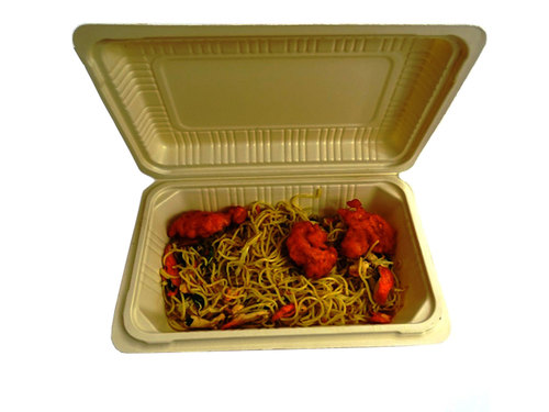 Disposable Clamshell Box