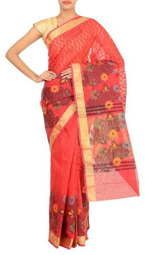 Fancy Border & Weaving Saree