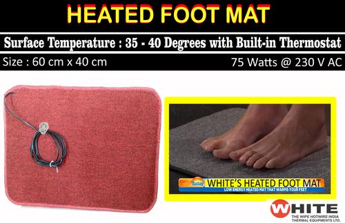 Premium Quality Heated Foot Mat