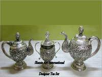 Pure Silver Tea Kettle