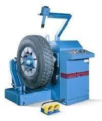 Blue Tyre Tread Builder Machine