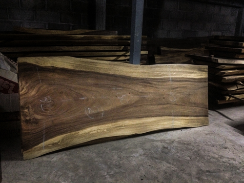 100% Acacia Wood Slab For Dining Table