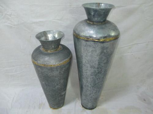 Brass Galvanized Vases In Moradabad Uttar Pradesh Sq Handicrafts