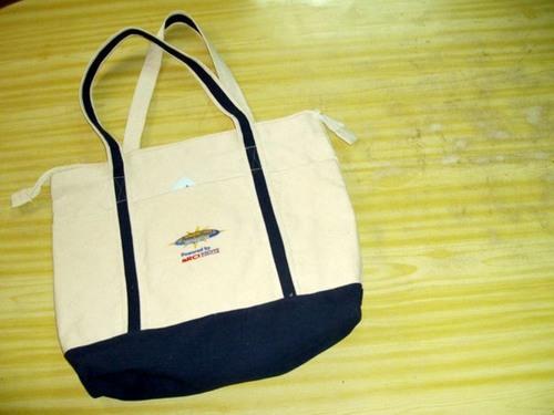 Cotton Canvas Tote Shopping Bag