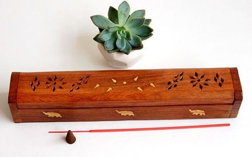 Fine Quality Wooden Incense Holder