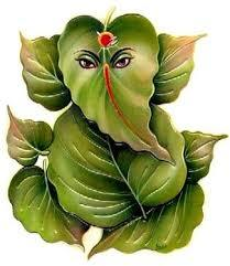 Peepal Leaf Lord Ganesha