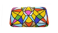 Women Multicolor Beaded Clutch Bags