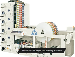 High Speed Paper Cup Printing Machines