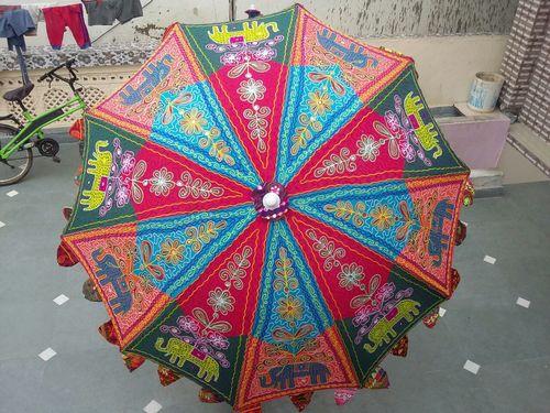 Rajasthani Beach Umbrellas