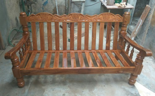 Teak Wood Sofa Set At Best Price In Chennai, Tamil Nadu | Sri Saravana Furniture