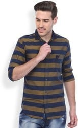 Mens Cross Striped Shirts