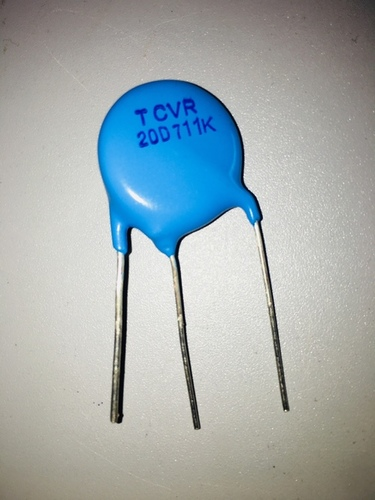 Thermally Protected Metal Oxide Varistors