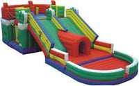 Inflated Bouncy Slide
