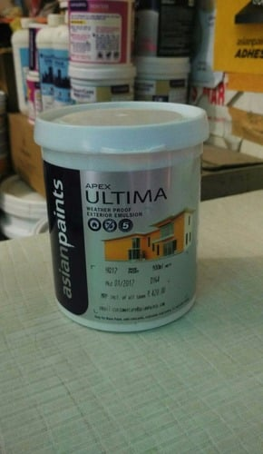 Asain Apex Ultima Whether Proof Exterior Wall Paints