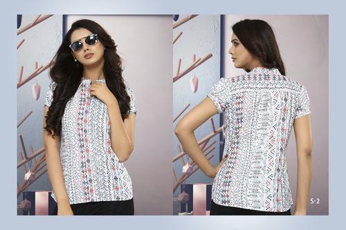 Ladies Designer Casual Shirts