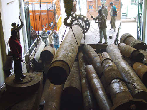 Heavy Duty Ship Shaft