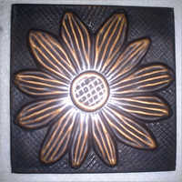 Decorative Copper Tiles With Sunflower Design  in  Katghar