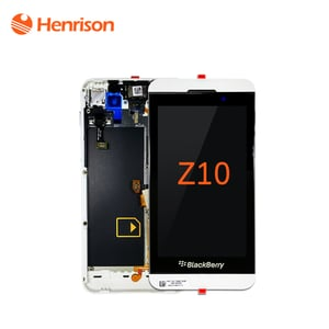 LCD Screen Display with Touch Screen Digitizer Black for Blackberry Z10
