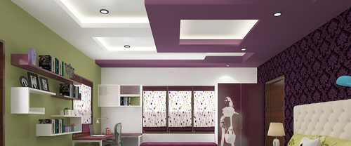Gypsum Wall Ceiling