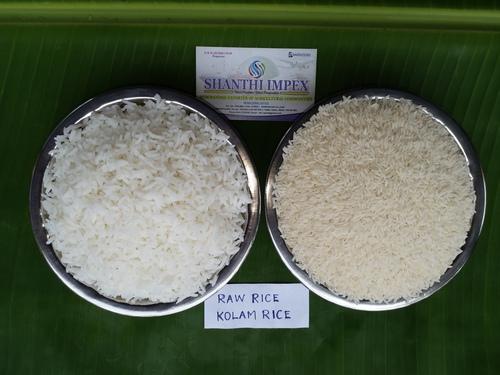 Kolam Raw Rice