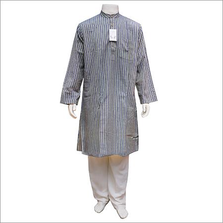 Mens Full Sleeve Cotton Long Kurta