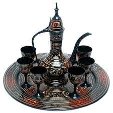Aftaab Set With Six Glass