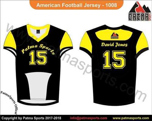 American Football Jersey Cool Model Patma Sports