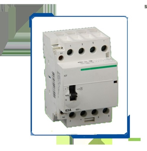 Ac Modular Contactor For Household Din Rail Mounting Type