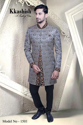 Pattern Indo Men Blazer