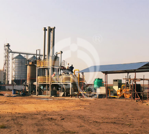 Biomass Gasification Power Plant