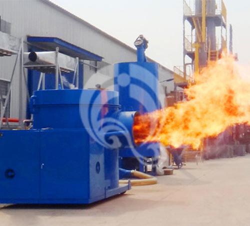 Highly Durable Sawdust Burner