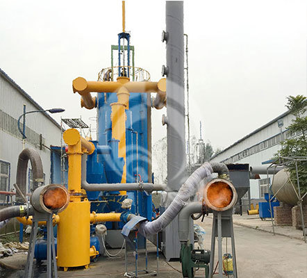 Highly Efficient MSW Gasifier
