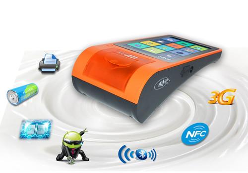 Telpo NFC Pos Machine with 58mm Thermal Printer at Price 200