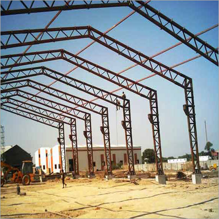 Light Steel Structure in  Railway Road
