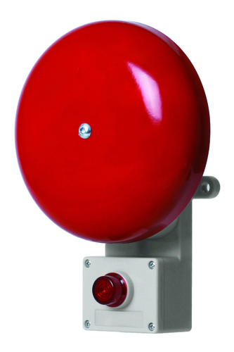 Alarm Bells With Lamp Attached