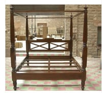 Four Poster Sheesham Bed