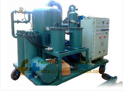 Series Zyd-Ex Vacuum Transformer Oil Filtration Machine