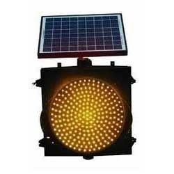 Solar Powered LED Traffic Signal Lights