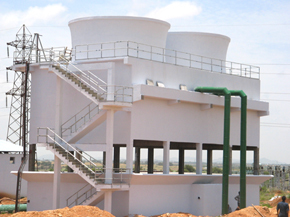 Concrete Counter Flow Cooling Towers