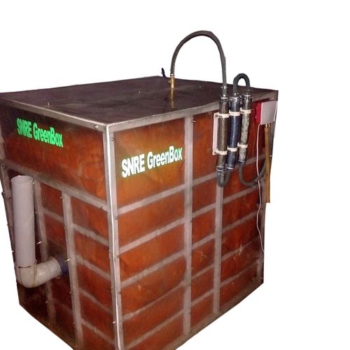 SNRE GreenBox (TM) Portable Domestic Biogas Plant at Price
